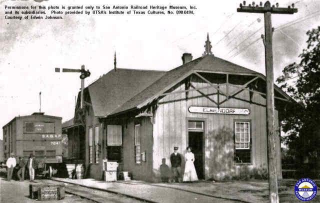 SAAP RR Depot - Elmendorf, Texass