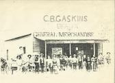 C.B. Gaskins Dealer in General Merchandise
